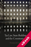 Cover of Tax Law, State-Building and the Constitution (eBook)