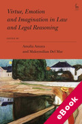 Cover of Virtue, Emotion and Imagination in Law and Legal Reasoning (eBook)