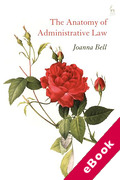 Cover of The Anatomy of Administrative Law (eBook)
