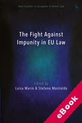 Cover of The Fight Against Impunity in EU Law (eBook)