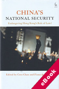 Cover of China's National Security: Endangering Hong Kong's Rule of Law? (eBook)