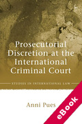 Cover of Prosecutorial Discretion at the International Criminal Court (eBook)