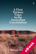 Cover of A First Nations Voice in the Australian Constitution (eBook)