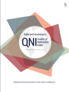 Cover of Kälin and Kochenov's Quality of Nationality Index: Nationalities of the World in 2018