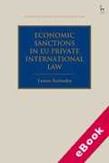 Cover of Economic Sanctions in EU Private International Law (eBook)