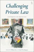 Cover of Challenging Private Law: Lord Sumption on the Supreme Court