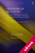 Cover of Freedom of Religion: An Ambiguous Right in the Contemporary European Legal Order (eBook)