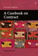 Cover of A Casebook on Contract