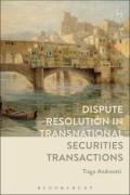 Cover of Dispute Resolution in Transnational Securities Transactions