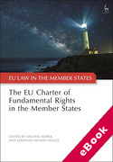 Cover of The EU Charter of Fundamental Rights in the Member States (eBook)