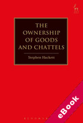 Cover of The Ownership of Goods and Chattels (eBook)