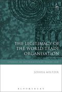Cover of Legitimacy of the World Trade Organisation