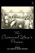 Cover of The Criminal Law's Person