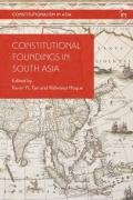 Cover of Constitutional Foundings in South Asia