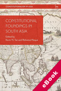 Cover of Constitutional Foundings in South Asia (eBook)
