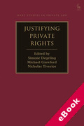Cover of Justifying Private Rights (eBook)