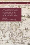 Cover of Constitutional Foundings in Northeast Asia