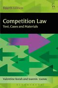 Cover of Competition Law: Text, Cases and Materials