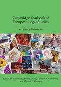 Cover of Cambridge Yearbook of European Legal Studies Volume 16, 2013-2014