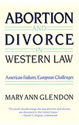 Cover of Abortion and Divorce in Western Law