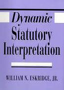 Cover of Dynamic Statutory Interpretation