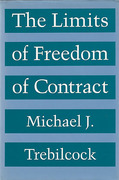 Cover of The Limits of Freedom of Contract