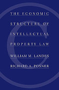 Cover of The Economic Structure of Intellectual Property Law