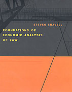 Cover of Foundations of Economic Analysis of Law