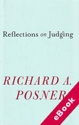 Cover of Reflections on Judging (eBook)