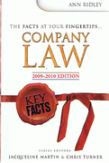 Cover of Key Facts: Company Law 2009-2010