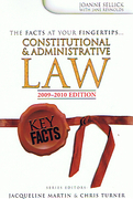 Cover of Key Facts: Constitutional and Administrative Law 2009-2010
