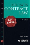 Cover of Key Facts: Contract Law