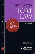 Cover of Key Facts: Tort Law