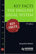 Cover of Key Facts: The English Legal System