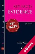 Cover of Key Facts: Evidence (eBook)