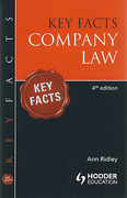 Cover of Key Facts: Company Law