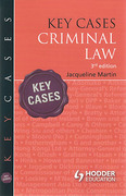 Cover of Key Cases: Criminal Law