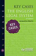 Cover of Key Cases: The English Legal System