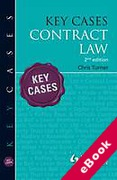 Cover of Key Cases: Contract Law (eBook)