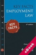 Cover of Key Facts: Employment Law (eBook)