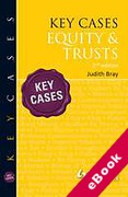 Cover of Key Cases: Equity & Trusts (eBook)
