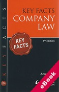 Cover of Key Facts: Company Law (eBook)