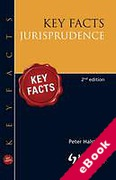 Cover of Key Facts: Jurisprudence (eBook)