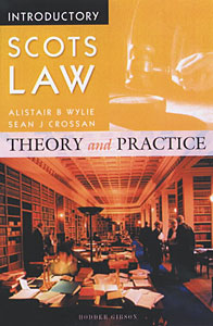 Wildy & Sons Ltd — The World's Legal Bookshop : Introductory Scots ...