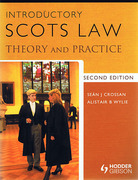 Cover of Introductory Scots Law: Theory and Practice