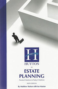 Cover of Hutton on Estate Planning: Practical Solutions to Today's Problems