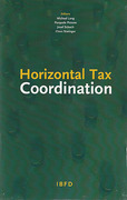 Cover of Horizontal Tax Coordination