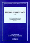 Cover of Ceca Form of Sub-Contract