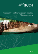 Cover of NEC4: Engineering and Construction Contract Option F: management contract