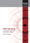 Cover of FIDIC Red Book: A companion to the 2017 Construction Contract